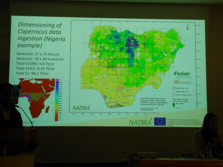 Pierre C. Sibiry Traoré (ICRISAT and Manobi) presents NADiRA Project