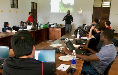 In-class discussion on the best practices of using drones in agriculture